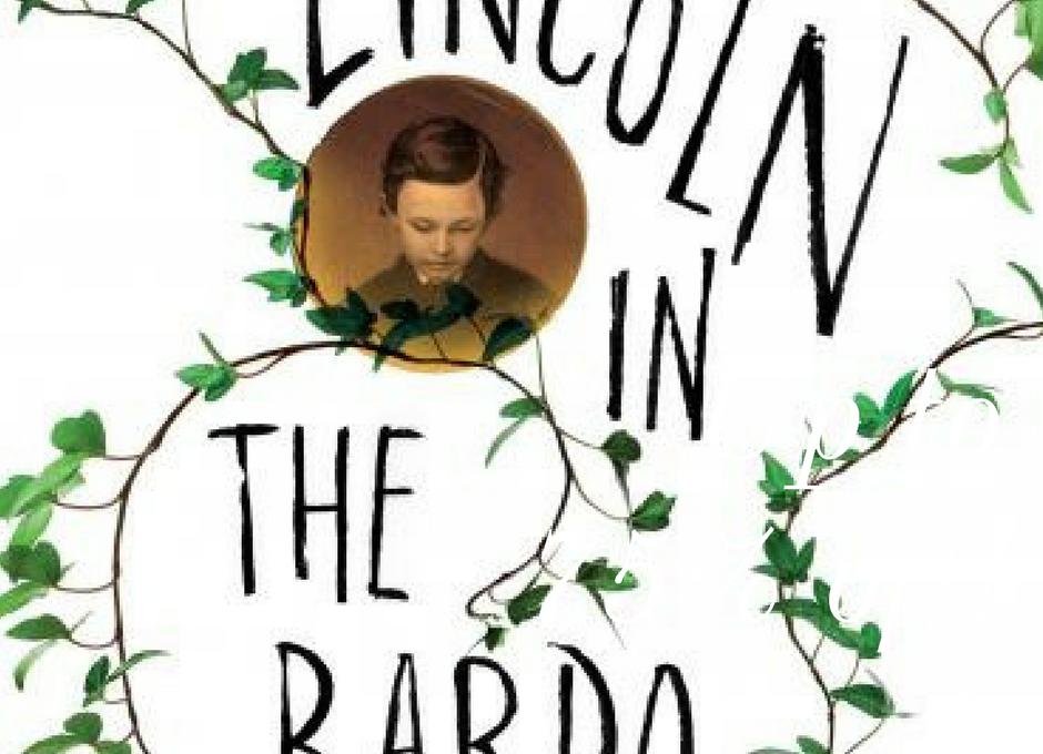 Okładka anglojęzycznego wydania powieści pt. LINCOLN IN THE BARDO Georga Saundersa