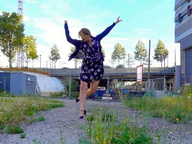 Fot. Nadia Vadori-Gauthier, artyskta tańcząca na ulicy